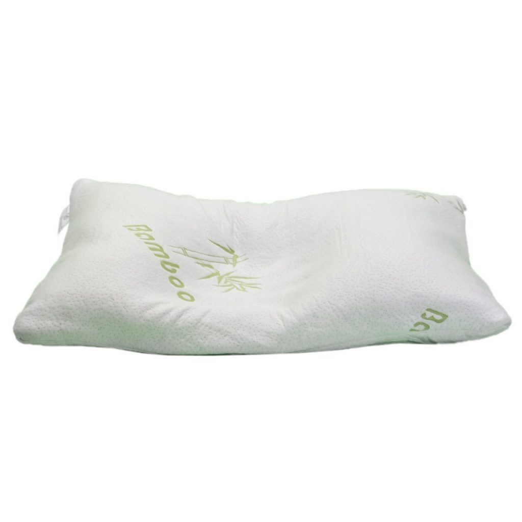 Hotel comfort bamboo covered pillow bamboo pillow reviews for Comfort inn pillows to purchase