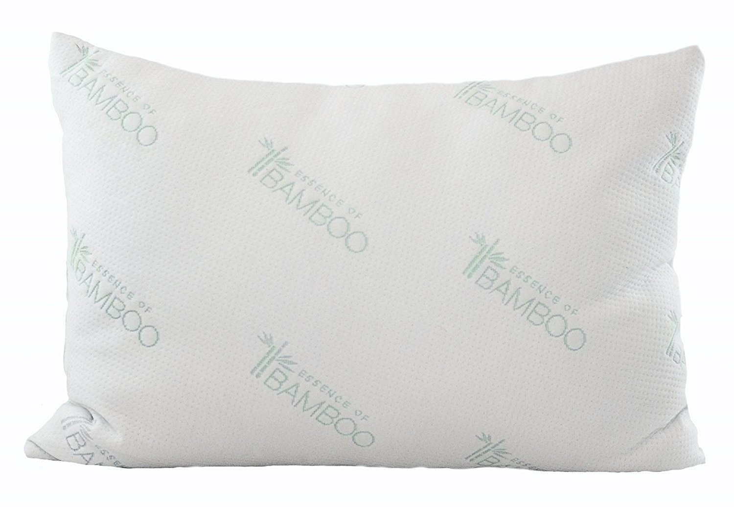 Ultimate Bamboo Pillow With Hypoallergenic Poly Fiber Fill