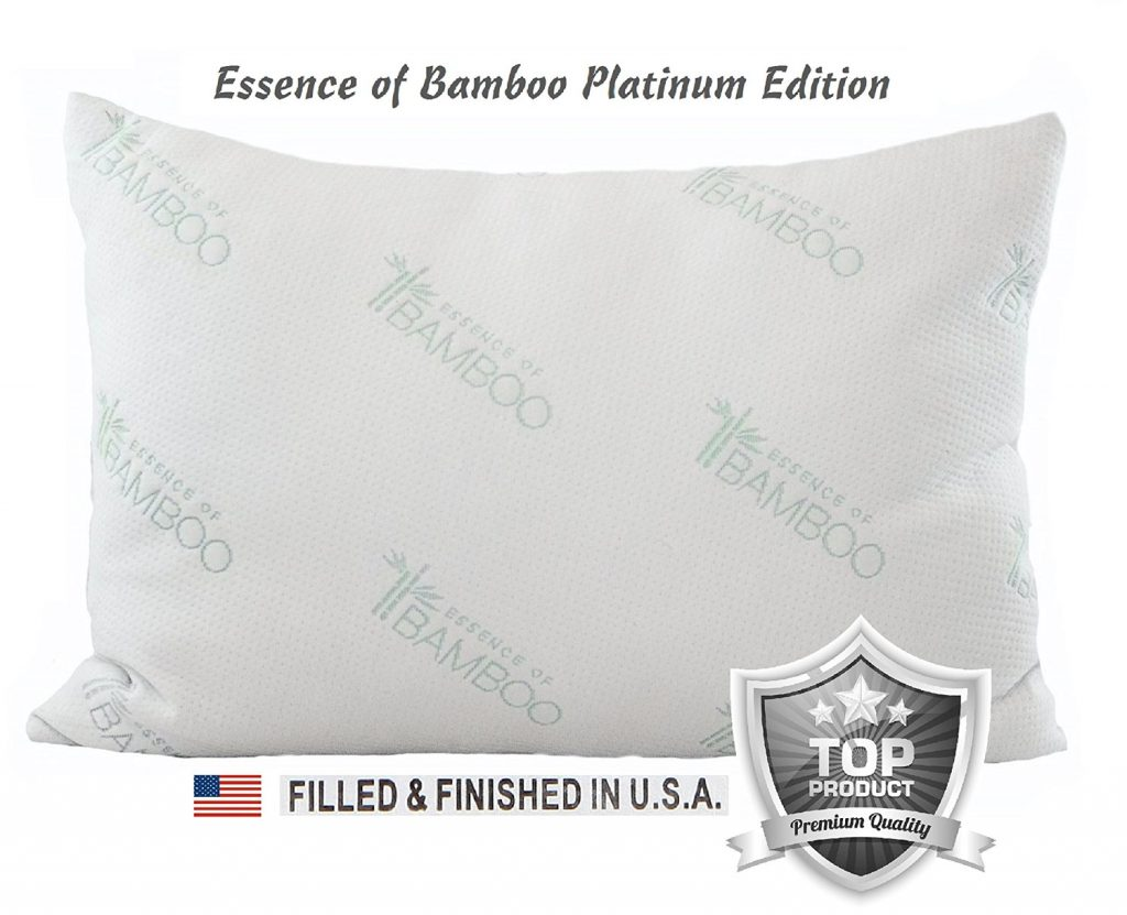 essence of bamboo pillow platinum edition 86965