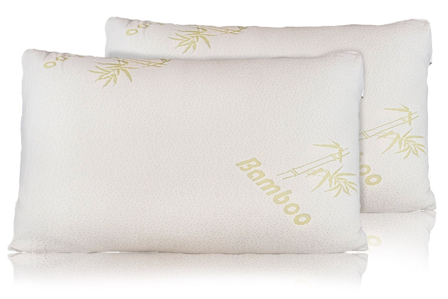 Relax Home Life Bamboo Pillow With Firm Shredded Memory