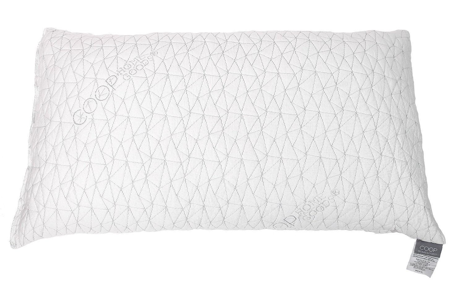 Coop Home Goods Pillow With Memory Foam Bamboo Pillow