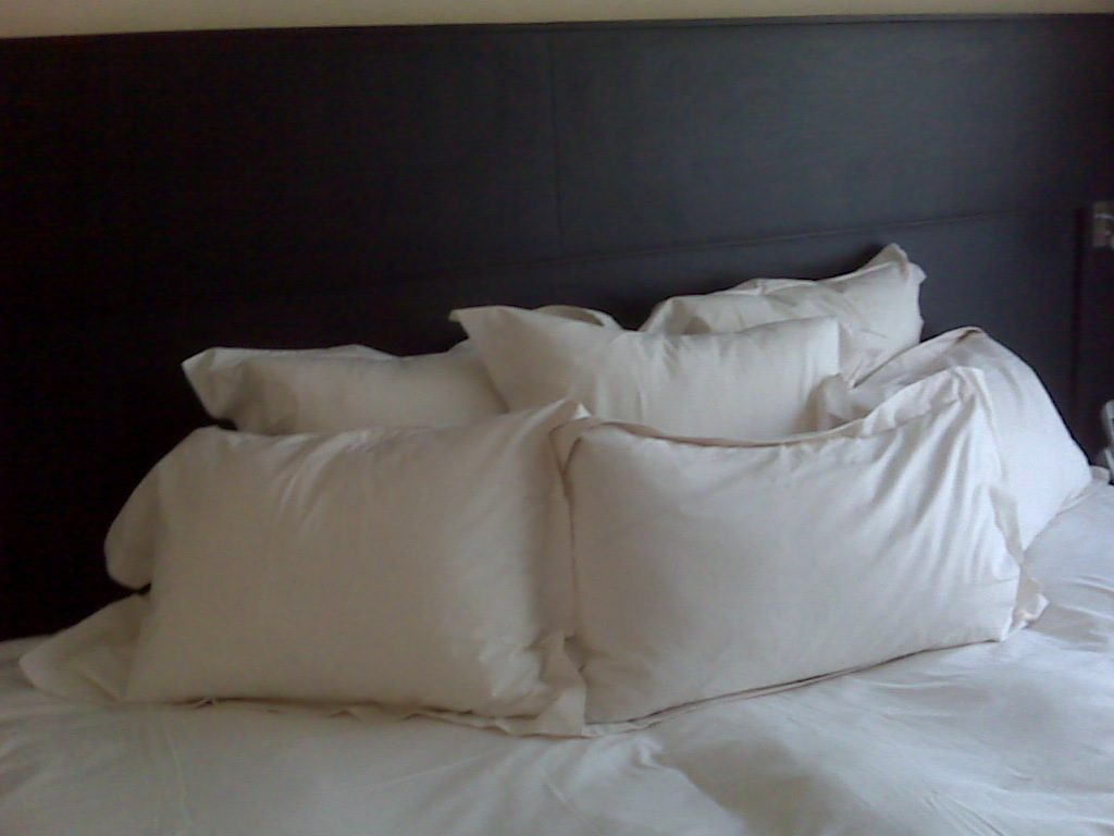 Clean pillows